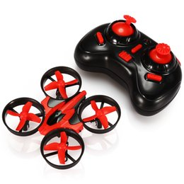 Wholesale Helicopter Axis - NIHUI RC Drones 2.4G 6CH 6 Axis Gyro Mini RC Quadcopter 360 Degree Flip Helicopter One Key Return with LED Light Drones HOT +B