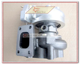 Wholesale T25 Flange - T25 T28 T25T28 T25 28 Turbine Turbo TurboCharger For Nissan S13 S14 S15 comp .60 turbine .64 a r Water Cooled T25 flange