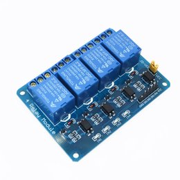 Wholesale Electronic Regulator - 5V 4-Channel Relay Module Shield for Arduino ARM PIC AVR DSP Electronic 5V 4 Channel Relay.4 road 5V Relay Module