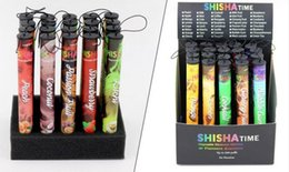 Wholesale Disposable E Cigars - E ShiSha Hookah Pen Disposable Electronic Cigarette Pipe Pen Cigar Fruit Juice E Cig Stick Shisha Time 280 Ma electronic