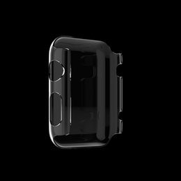 Wholesale Hard Plastic Pc Case Crystal - for Apple Watch Series 1 2 42MM 38MM for iwatchLuxury crystal ultra thin hard pc plastic transparent clear transparent case cover fu