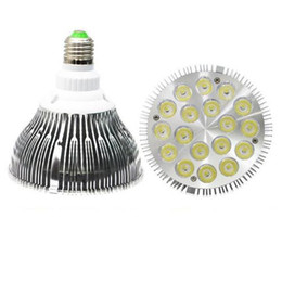 Bombilla led par38 25w online-Bombilla led regulable CREE Par38 Par30 Par20 85-240V 9W 10W 14W 18W 24W 30W E27 Luz de punto de iluminación LED Downlights