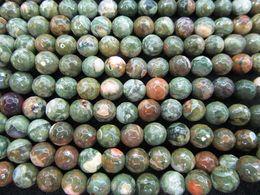 Wholesale Natural Amazonite - natural Mookaite beads, Yolk Jasper Amazonite Beads Round faceted Rainbow BloodStone Loose Beads 6-12mm 16inch full strand