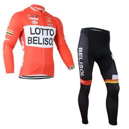 Wholesale Cycling Jersey Shorts Warmers - 2017 Lotto Jumbo Thermal Cycling Clothing Long Sleeve Warm Fleeced Cycling Jerseys bib Pants Bike Clothes maillot ciclismo