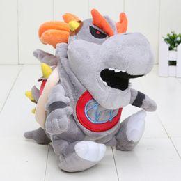 "Wholesale Bones Video - Hot ! Bones Bowser Koopa Super Mario Plush Doll Stuffed Animals Toy For Child Best Gifts 7"" 18cm"