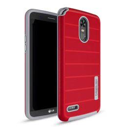 Wholesale G3 Hard Case - 100 Pcs hybrid Hard Silicone +TPU Back Covers For LG G3 G4 G5 G6 stylo 3 Plus lg lv3 lv5 Slim Armor Case