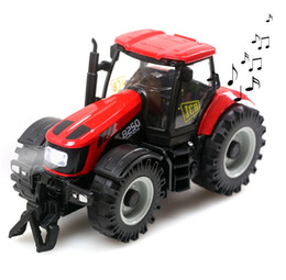 Wholesale Toys Electronic Truck - 1:32 New toys Farm vehicle Alloy Car Model Car Truck Farm Toy Cars Electronic Car with light&sound Kids Toys Gifts