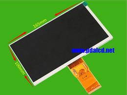 Wholesale U25gt Hd - Wholesale- Original new 7 inch LCD screen 7300101463 E231732 HD 1024 * 600 LCD screen for GUBE U25GT Tablet PC LCD screeen Free shipping