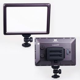 Wholesale Pro Led Lighting - New Pro Ultra Thin Luxpad22 Ra95 LED Chips Video Light Bi-Color 3200K-5600K Led Lighting for Canon Nikon Sony DSLR Camera DV