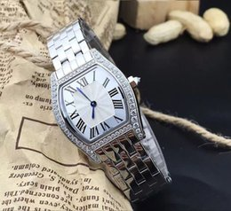 Wholesale Mirror Strips - High quality classic modern fashion lady wrist watch Quartz movement minerals wear-resistant sapphire mirror Stainless steel strip KD