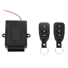 Wholesale Auto Central - Car Auto Vehicle Remote Central Kit Door Lock Unlock Window Up Keyless Entry System 433.92MHz Universal Electric with Air Lock