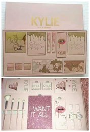 Wholesale Birthday Sets - New Kylie Vacation Edition & Birthday Collection I WANT IT ALL Makeup set take me on vacation,Send me more Nudes,June bug,August Bug DHL