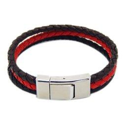 Wholesale Leather Bracelet Manufacturers - Free Shipping 10pcs lot hot sale Men Genuine Leather Bracelet Leather Bracelet Wholesale Bracelet Manufacturer