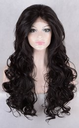 Wholesale Human Hair Super Long Wig - Super soft unprocessed peruvian virgin human hair natural loose wave with bangs gluless full lace lace front wigs for black women