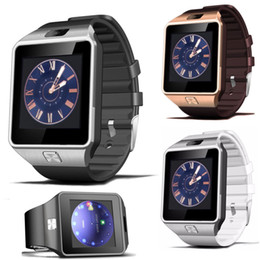 """Wholesale Female Display - DZ09 Bluetooth Smart Watch Smartwatches 1.54"""" Display with 2G SIM Card 2G Pedometer for Android Samsung and iOS iphone Smartphone Smartwatch"""