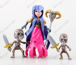 Wholesale big toy garage - New 8 garage kit PVC Toy Action Figure Doll ornaments