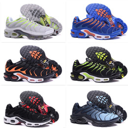 Wholesale Mens Cheap Sport Casual Shoes - Cheap Zapatillaes Mens Casual Tn running Shoes,shoes sport TOP Quality Chaussures Hommes Tn Requin Pas Cher Running shoes EUR Size 40-46