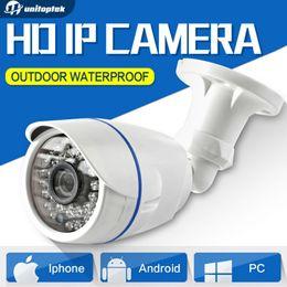 Wholesale Security Ip Outdoor Camera - 1.0MP   2MP Bullet 720P IP Camera 1080P Outdoor IR 20m HD Security Waterproof Night Vision P2P CCTV IP Cam ONVIF IR Cut XMEye