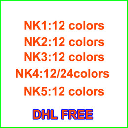 Wholesale Eyeshadow 24 Colors - Hot sale Makeup Eye Shadow NUDE 12 color 24 color eyeshadow palette 15.6g High quality NUDE 1.2.3.4.5 DHL Free shipping