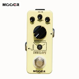 Wholesale Guitar Pedal Mooer - MOOER micro series envelope analog auto Wah Pedal high-quality electronic components Guitar effect pedal