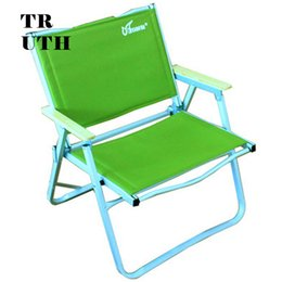 Wholesale Folding Lounge - Wholesale- Outdoor aluminum folding genuine CMARTE fishing beach lounge chair recliner armchair furniture suit