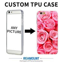 Wholesale Apple Add - New Design DIY Custom Art Print Case Add Private Logo Photo Picture for iphone 6 6plus Soft TPU Transparent Custom Made Mobile Phone Case
