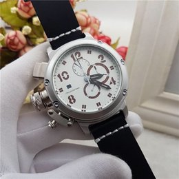 Wholesale mens white silicone watches - 2017 NewTop Quality Luxury Brand UB Wristwatch stopwatch Sport Mens Watch Men's Watches