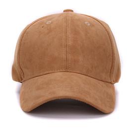 Chapeaux en gros en daim en Ligne-Gros-plaine casquettes de baseball en daim sans broderie décontractée papa chapeau sangle retour casquette de sport vide en plein air et chapeau pour hommes et femmes