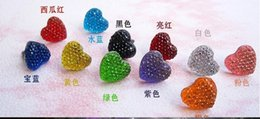 Wholesale Heart Shaped Plugs - Wholesale - Promotion cute 3.5mm candy color heart shape earphone Caps anti dust jack plug for iphone ipad sumsung HTC 10000pcs