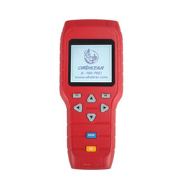 Wholesale Obd Software Citroen - OBDSTAR X-100 PRO X100 Pro Auto Key Programmer (C) Type for IMMO and OBD Software Function Get EEPROM Adapter Free Shipping by DHL