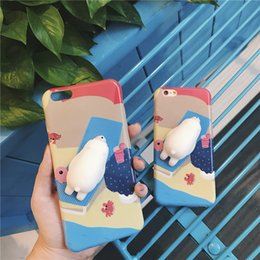 Wholesale Newest D Cute Squishy Rub Cat Case for iPhone S Plus Funny Poke Animal Ultra Thin Phone Cases for Coque