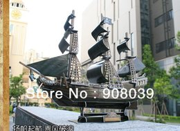 Wholesale Model Black Pearl Pirate Ship - SALE!ship within 24 hour Three-dimensional jigsaw puzzle pirate ship model queen revenge, black pearl model Educational Toy