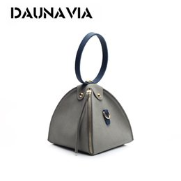 Wholesale Shoulder Blazer Women - Mini Messenger Bag Women's Handbag 2017 Fashion frosted Triangle Bundle Blazer Shoulder Bag Retro matte skin