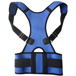 Wholesale Best Posture Corrector - Wholesale- 1 Pcs Best Adult Custom-made Correct Posture Corrector Vest Braces Back Support Belt Free Shipping