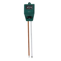 Wholesale Hydroponics Ph Meter - Wholesale- 3 in 1 PH Sunlight Hydroponics Analyzer Meters Soil Moisture Meter for Gardening Farming Acidity Moisture PH Measurement