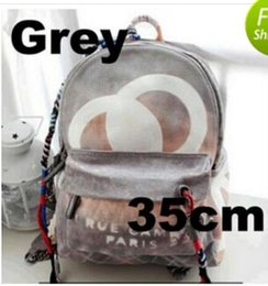 Wholesale Stone Color Dresses - High quality Fashion New Travel Bags Graffiti color retro shoulder bags catwalk men and women casual canvas bag backpack bag
