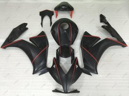 Wholesale Honda Rr Plastics - ABS Fairing CBR1000 RR 2012 Bodywork for Honda Cbr1000RR 13 Black Plastic Fairings Fireblade 12 2012 - 2014