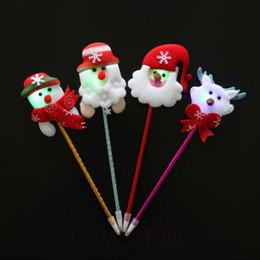 Produttori di palle di natale online-Regali di Natale Penna a sfera di Natale con penna a sfera Penna regalo di Natale produttore all'ingrosso