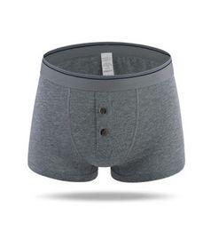 Wholesale Open Underpants - Brand Plus Size Sexy Underwear Men Boxers Shorts 6XL Cueca Cotton U Convex Pouch Button Front Open Underpant Bulge Male calzoncillos marca
