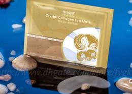 Wholesale Cheap Eye Masks - PILATEN authorization 6g Crystal Collagen Eye Mask Anti-puffiness Dark Circle Anti Wrinkle Moisturizing Eyes Face Skin Care Cheap Price