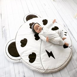 Wholesale Blankets For Newborns - INS Europe Newborn Baby mats Clouds lightning pattern very lovely for Air conditioning blanket Girls boys playing Carpet mat Room decoration