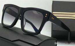 Wholesale Wrapping Design - new men sunglasses creator model square vintage retro style men brand designer sunglasses UV400 lens gold plated hot fashion design