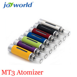 Wholesale Bottom Coil Tank Cartomizer - Wholesale- MT3 Clearomizer eVod BCC MT3 Electronic Cigarette rebuildable Atomizer bottom coil tank Cartomizer to e cigarette 30PC YY