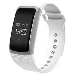 Wholesale Touch Screen Wrist Band Watch - Newest Touch Screen A09 Smart Band Watch Bracelet blood pressure Heart Rate Monitor Pedometer Fitness Smart Wristband pk miband2