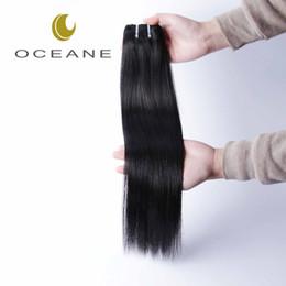 Wholesale Brazilian Drop Ship - Oceane Hair Brazilian Virgin hair Straight Human Hair Weaves and natural color 1pcs lot hot sale drop shipping