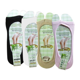 Wholesale Acrylic Fashion Shoe - Wholesale- 2016 Soft Comfortable New Women Fashion Summer Short Toeless Socks Perfect For Peep-Toe High-heel Shoes
