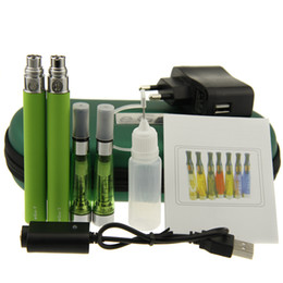 Wholesale Double Egos Ce5 - Ego Ce5 double starter kit with ego t battery Electronic Cigarettes 1.6ml no wick Ce5 Vaporizer E cigarette