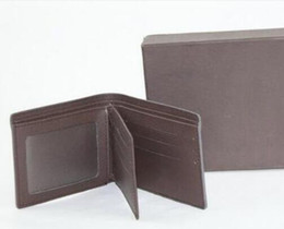 Wholesale Genuine Leather Purses For Women - Hot Best quality Male Genuine Leather luxury wallet Casual Short designer Card holder pocket Fashion Purse wallets for women men