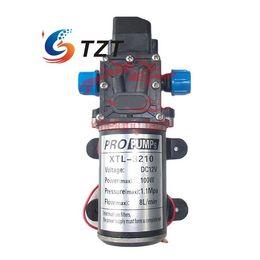 Wholesale Diaphragm High Pressure Water Pump - Wholesale-Water Pump DC 12V 100W 8Lpm Diaphragm High Pressure for Wash Car Boat Marine