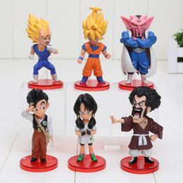 Wholesale Dragon Ball Kai Son Goku - 6pcs set Dragon Ball z KAI Episode of Boo Vol.1 Son Goku Vegeta Dabura Son Gohan Videl PVC Figures Toys